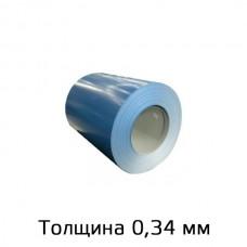 Прокат марки ЭОЦПп (40 стандартных RAL) толщина 0,33-0,34мм в Самаре