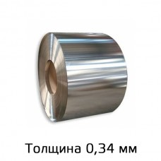 Оцинкованный прокат марки ЭОЦ-2 толщина 0,34мм в Самаре