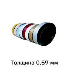 Оцинкованный прокат марки ЭОЦП Грунт толщина 0,69мм в Самаре