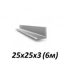 Оцинкованный уголок 25х25х3 (6м) в Самаре