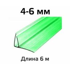 Профиль цветной пристенный FP 4-6 мм в Самаре