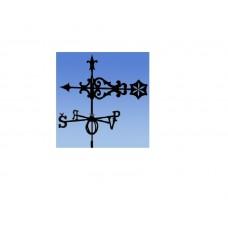 Флюгер на крышу GLORI ir Ko Солнце (черный и золотой) в Самаре