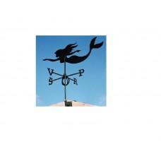 Флюгер на крышу GLORI ir Ko Русалка в Самаре