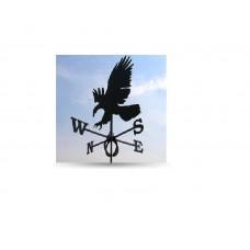Флюгер на крышу GLORI ir Ko Орел (черный и золотой) в Самаре