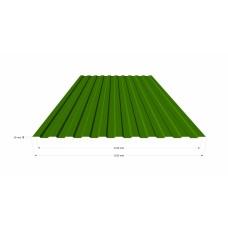 Профильный лист СС-10 (0,5) Полимерное покрытие (крашенный) в Самаре