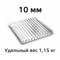 Лист поликарбоната Skyglass 10 мм в Самаре