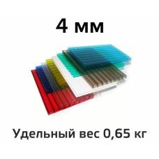 Лист поликарбоната цветной Woggel 4 мм в Самаре